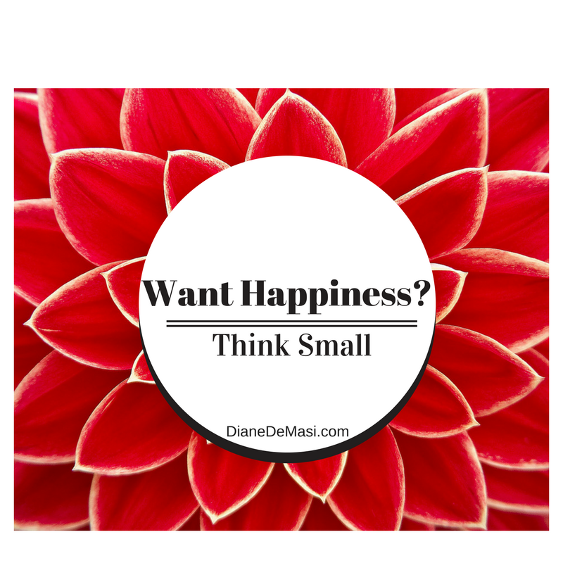 Happiness = Small