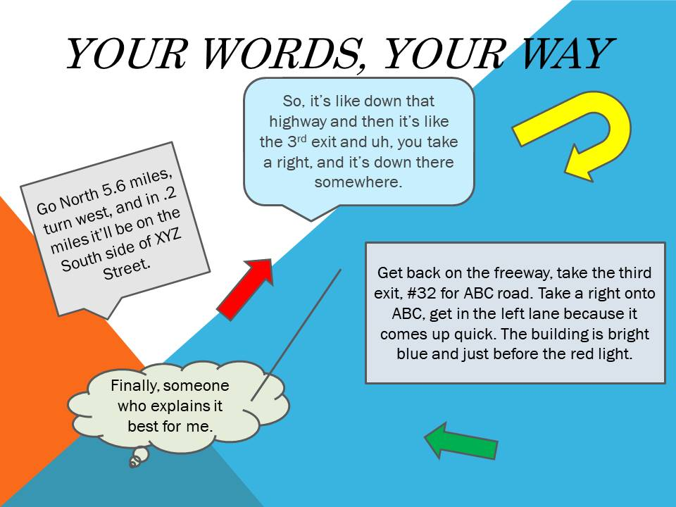 Your Words, Your Way